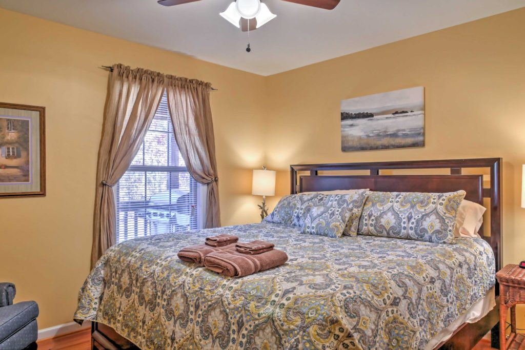 Interior view rental property bedroom photo for advertisement