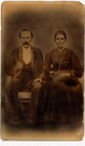 Couple from 1800's USA civil war