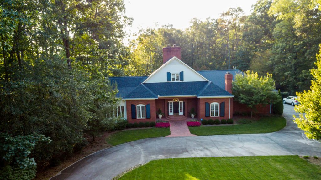 Drone photo for real estate photography in Rocky Face, GA for agent in Dalton, GA