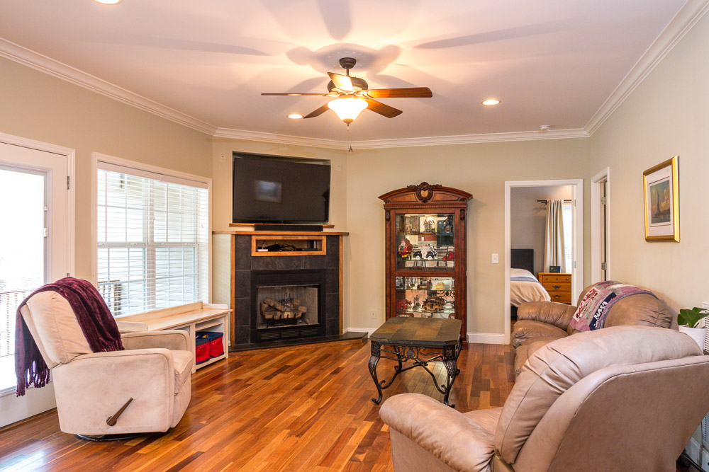 Living room interior photo real estate photo Dalton, GA, Chattanooga, TN