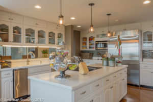 White kitchen real estate photo in Dalton, GA Chattanooga, TN