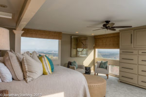 real estate photo of bedroom with view real estate photo, Dalton, GA Chattanooga, TN