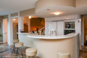 architectural photo of kitchen in home for sale Dalton, GA