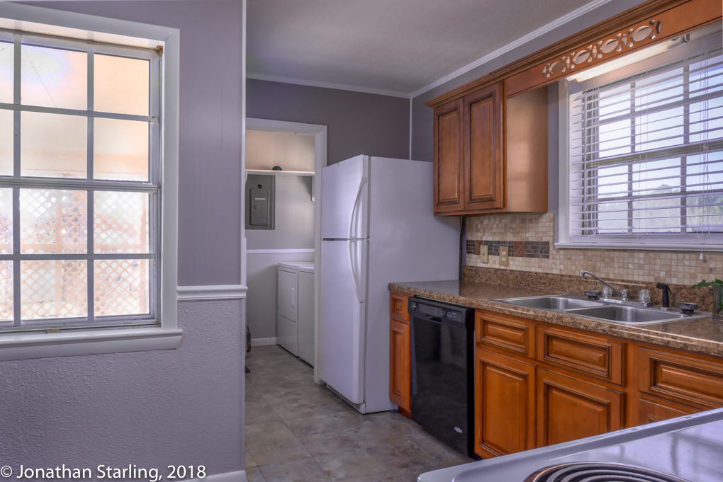 View of kitchen real estate photography, interior photography, real estate photographer