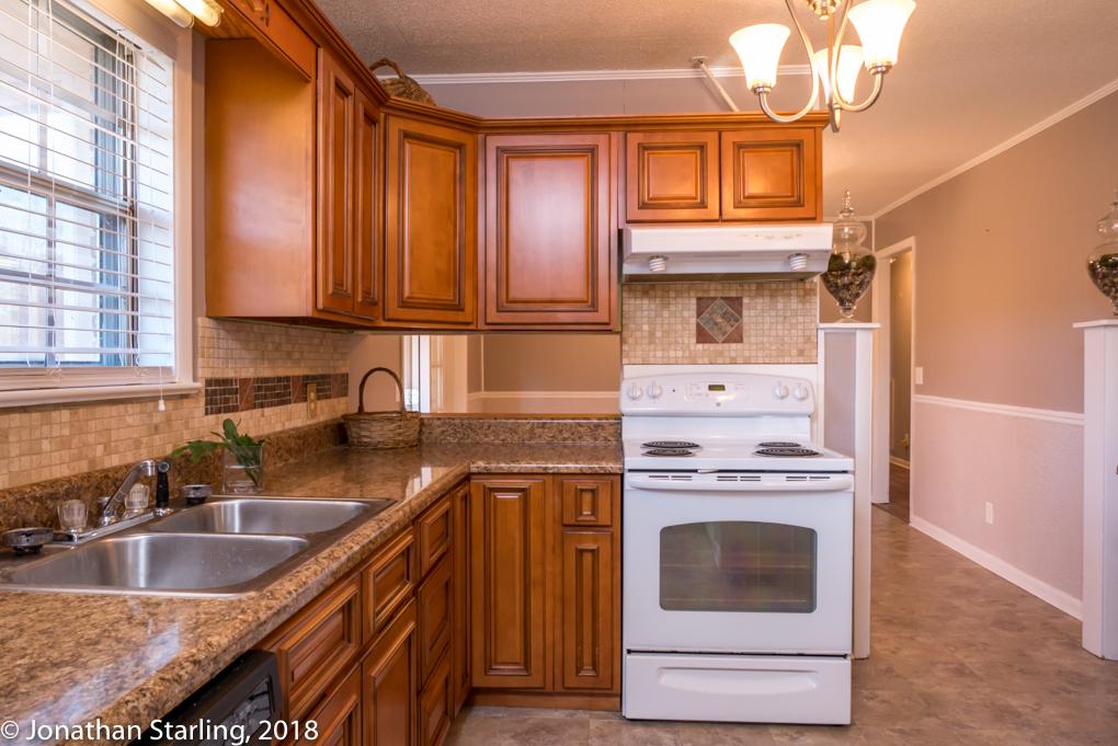Kitchen interior photo real estate photographer Dalton, Ga, Chattanooga, TN, Atlanta,