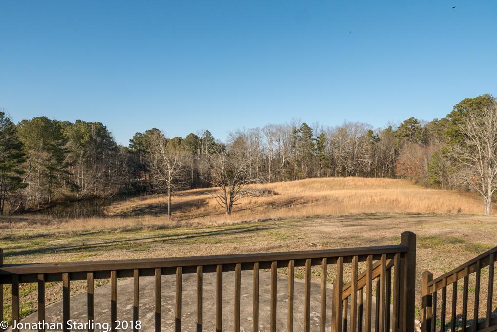 View from porch home for sale Ringgold, GA, Real Estate photo Dalton, GA, Ringgold, Tunnel Hill, Atlanta, Chattanooga