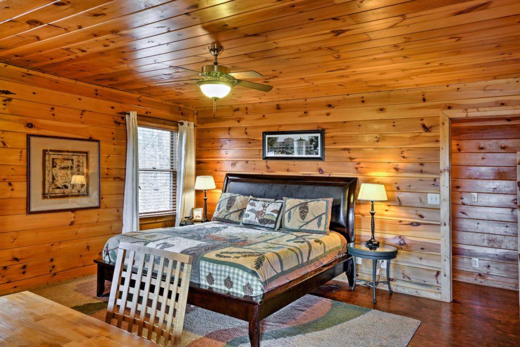 master Bedroom photo, Property rental Ellijay, Dalton, Chattanooga