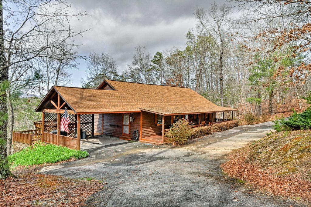 Exterior view, Real Estate Photographer, Ellijay, Dalton, Georgia, TN, Chattanooga